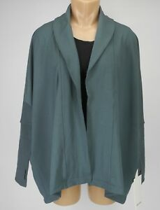 NEW-LULULEMON-Back-In-Action-Wrap-2-6-8-12-Sea-Steel-Cardigan-NWT-FREE-SHIP