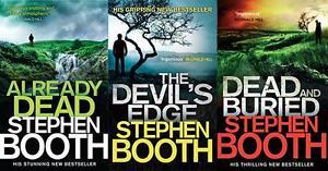 Stephen-Booth-3-Livre-Ben-Cooper-Ensemble-Tout-Neuf-blood