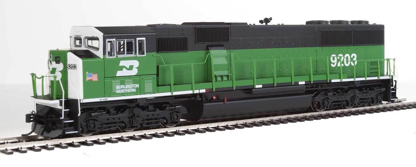 Pista h0-diesellok EMD sd60m burlington northern digital con sonido -- 20301 nuevo