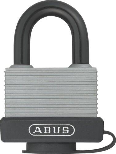 ABUS 49976 Aluminium Padlock with 6401 Alike Keyed Silver