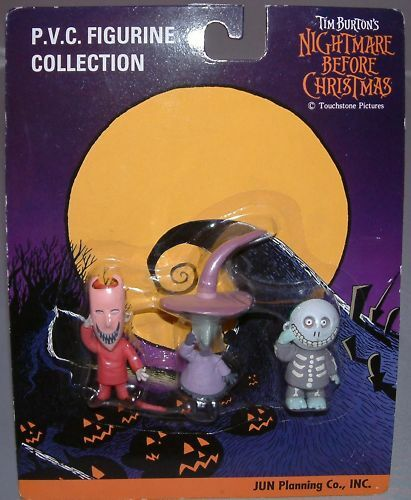NIGHTMARE BEFORE CHRISTMAS     PVC Figurine Collection df1007