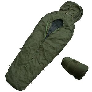 Image Is Loading Army Sleeping Bag Cover Bivi Compression Sack