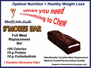 S Mores Bar Weight Loss 1 Case Similar To Optifast 800 Ebay