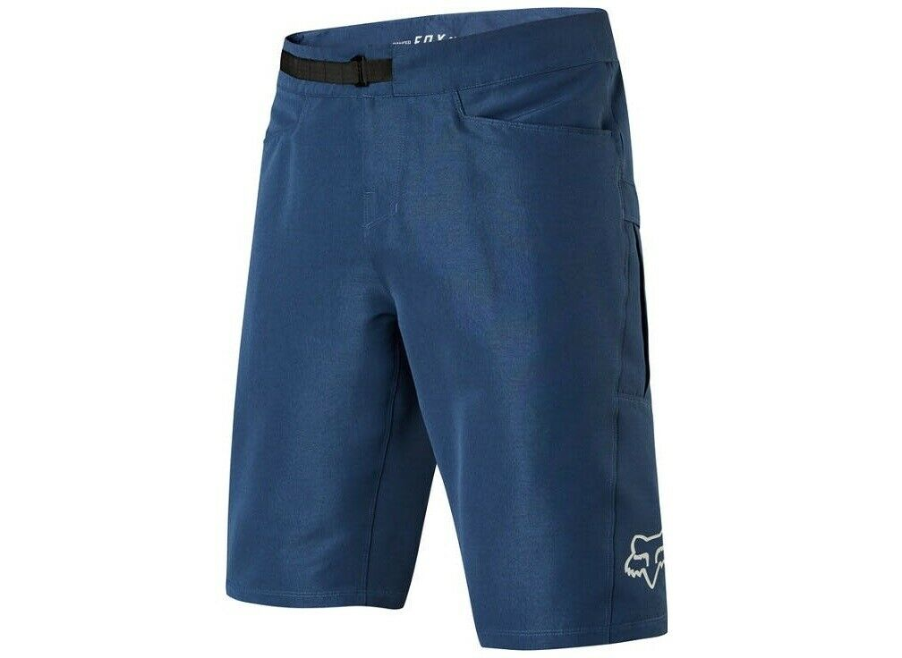Fox Ranger Cargo Shorts - With Liner - Fahrrad MTB Mountain Fahrrad Radfahren - Blau