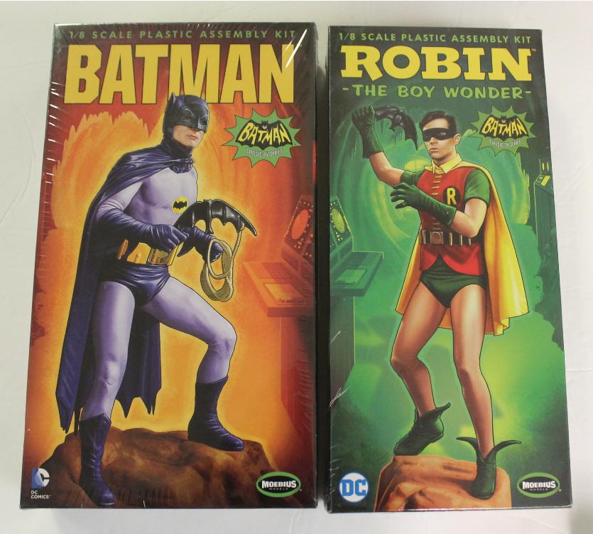 Moebius Models, Bathomme & Robin The Boy Wonder,  1 8 Scale Model Kits 950 951  réductions et plus