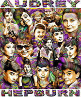 audrey Hepburn Tribute T-shirt Or Print By Ed Seeman