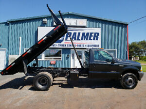 2002 Ford F550 4x4 7.3 diesel automatic 12ft dump