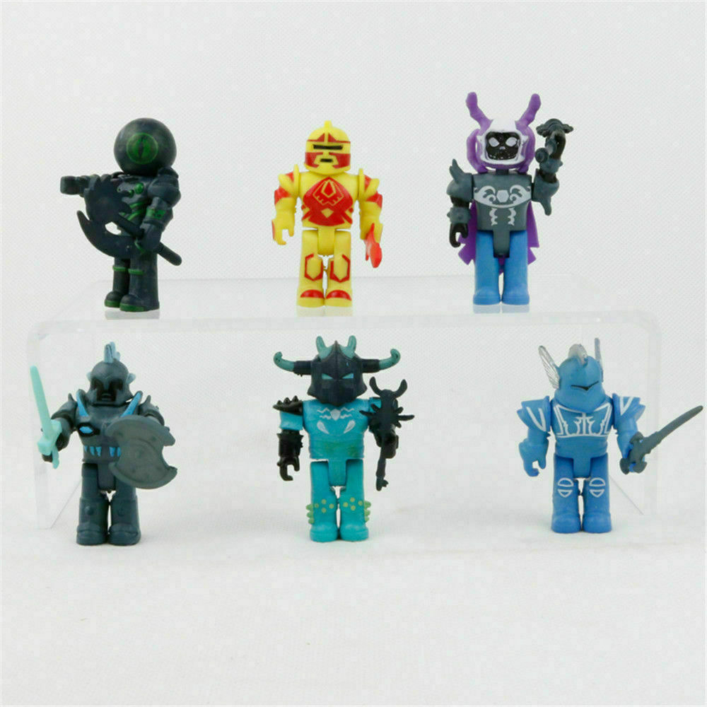Roblox Action Figures Game Character Set 6 Pcs Cake Topper Kids Party Toys Gift - lego roblox characters