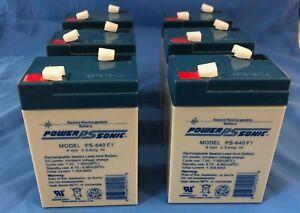 Mighty Max 10 Pack 6V 4.5Ah Emergency Exit Lighting SLA Battery