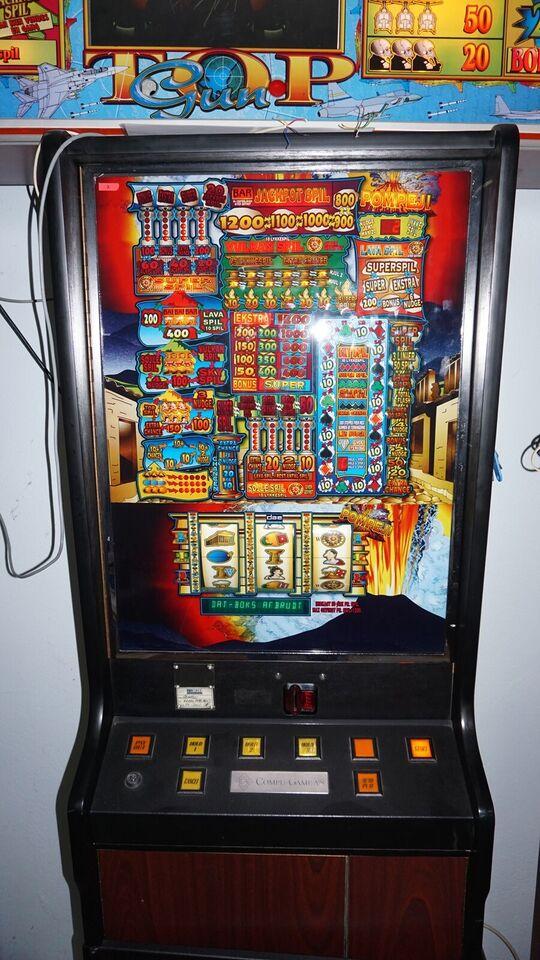 DAE automat + toptavle, spilleautomat, God