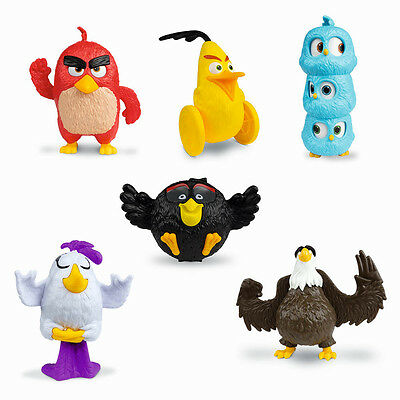 Burger King Angry Birds 2 Ii Complete Sat 6 Different Serie Completa Imbustati
