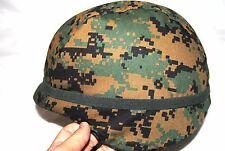 USMC LEVEL IIIA PASGT COMBAT KEVLAR HELMET - LARGE