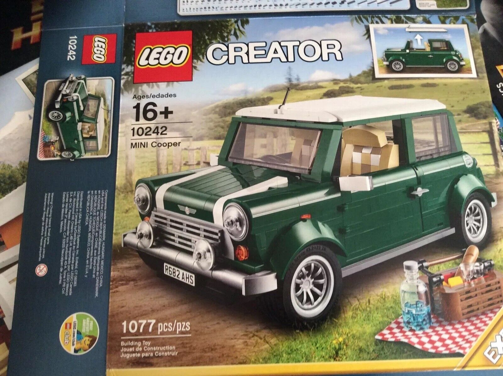 Factory Box Only LEGO Creator Expert Expert Expert MINI Cooper 10242 Building Set Classic Car 554b40