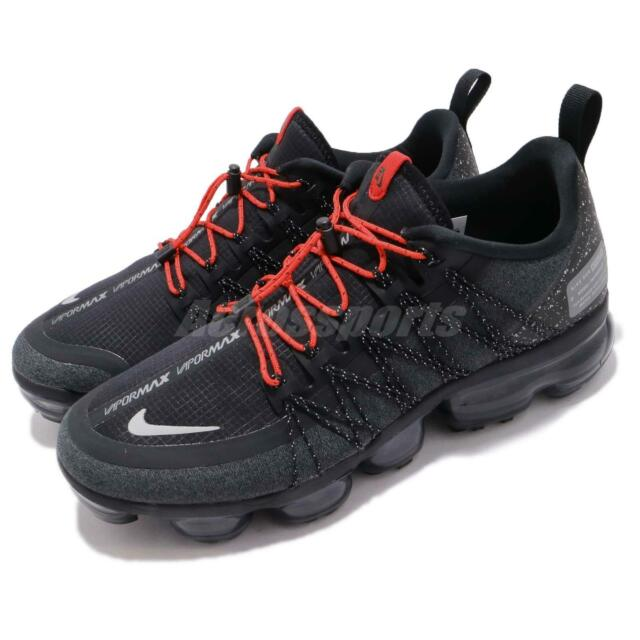 4eff812a722a1 Nike Air Vapormax Run Utility Black Reflect Silver Mens Running Shoes  AQ8810-001
