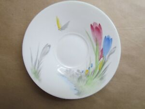 SHELLEY-CROCUS-W11952-PATTERN-SPARE-TEA-CUP-SAUCERS-Ref4626