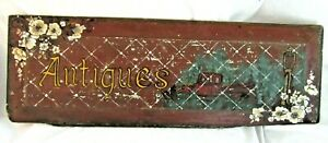 VINTAGE-WOOD-HAND-PAINTED-ADVERTISING-ANTIQUE-SHOP-STORE-SIGN-COUNTRY-PRIMITIVE