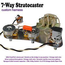 squier stratocaster strat wiring circuit harness electrics hand rh ebay co uk Strat Wiring Mods 5-Way Strat Switch Wiring Diagram