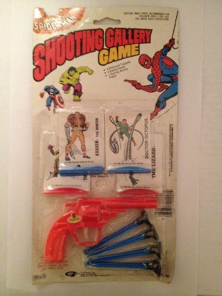 Spiderman Shooting Gallery Game 1980