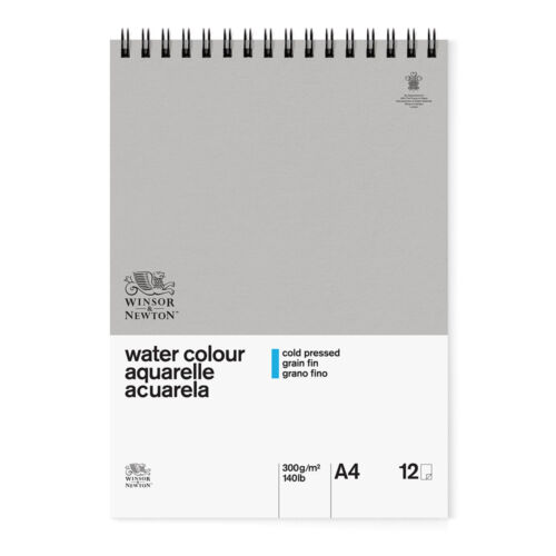 Winsor /& Newton Classic Watercolour Paper Spiral Pad 300gsm Cold Pressed