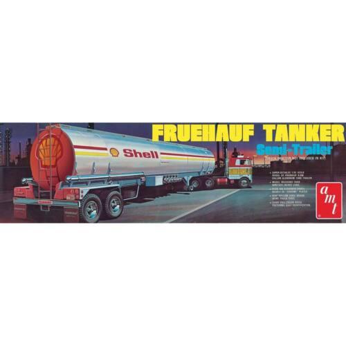 AMT Shell Tanker Trailer 1//25 model kit new 918