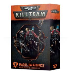 Kill-Team-Magos-Dalathrust-Adeptus-Mechanicus-Commander-Set-Warhammer-40K-NIB