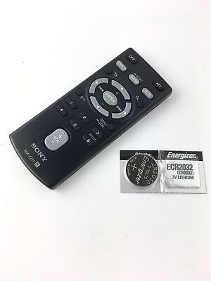 NEW SONY RM-X211 Remote for Compact Disc Player Car Audio System W// BATTERY