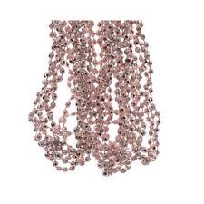Christmas Beaded Garland Decoration Pale Pink 270cm Wedding Bead Garland