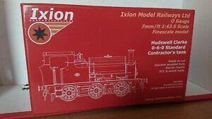 RARE-IXION-O-Gauge-Hudswell-Clarke-0-6-0-IOS-HCF-Standard-Contractors-Tank-Loco