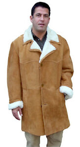 00516dc293 Image is loading Men-039-s-Closed-Seam-Marlboro-Sheepskin-Coat