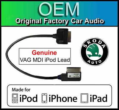 media in interface cable adapter Skoda Amundsen MDI USB lead