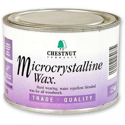 Chestnut Microcrystalline Wax  225ml Very durable water resistant finish