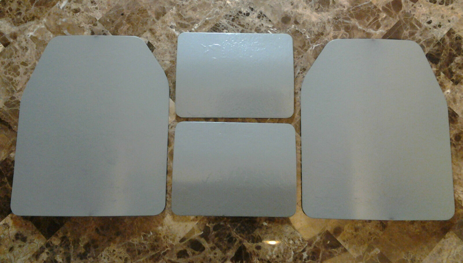 Body Armor Curved 10x12 & 6x8 Level III 3 DOD Certified Plate MIL-DTL-46100