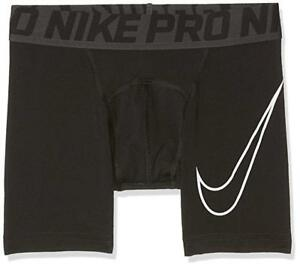 d8199848854e8 Image is loading Nike-0719-Big-Boys-Black-Hypercool-Compression-Training-