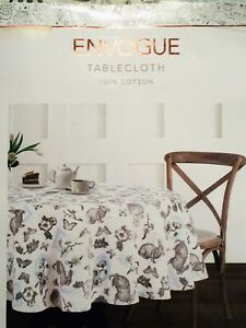 Superieur Image Is Loading Envogue Easter Bunny Amp Spring Floral Butterfly Tablecloth