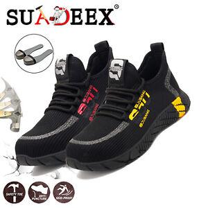 Scarpe-da-lavoro-Uomo-S3-Scarpe-antinfortunistica-ginnastica-running-antiscivolo