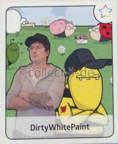 Sticker 47-Panini-Webstars 2017-dirtywhitepaint