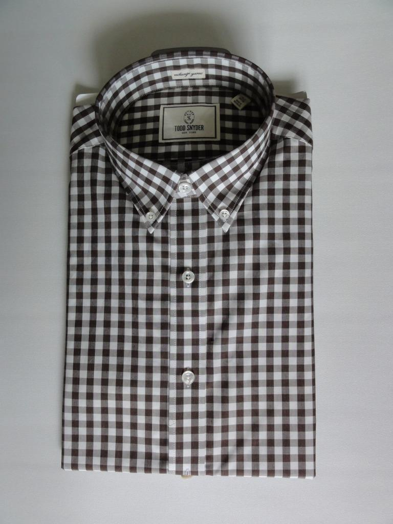 TODD SNYDER DRESS SHIRT,Cappuccino, SIZES 15,15.5(32/33),15.5,16(34/35),MSRP125