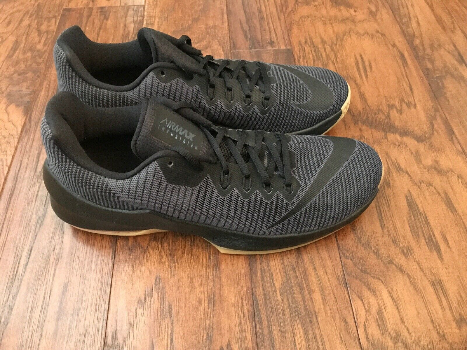 NEW Men's Nike Air Max Infuriate 2 Low Black Size 11