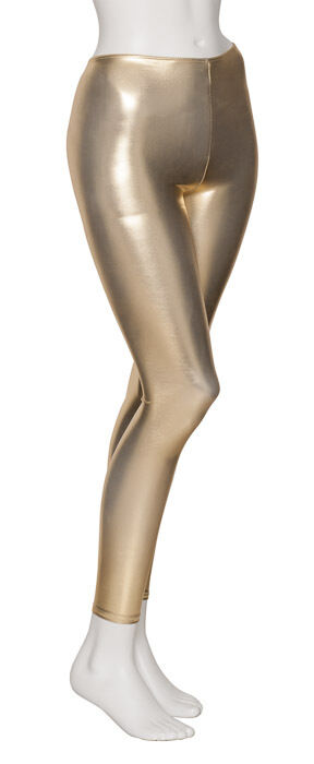 All Colours Shiny Metallic Halloween Fancy Dress Disco Leggings By Katz KDT002
