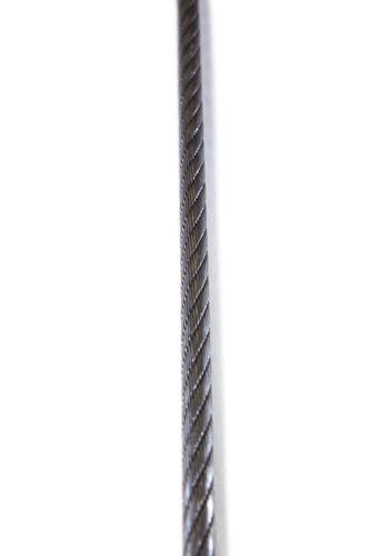 Forstwindenseil GRIZZLY 11 mm hochverdichtet Windenseil mit Schlaufe verpreßt