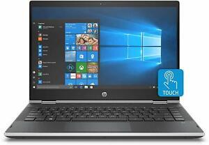 "Brand New HP Pavilion X360 14-cd1075nr 14"" T/S Laptop -- i5-8265U/ 8GB/ 1TB HDD"