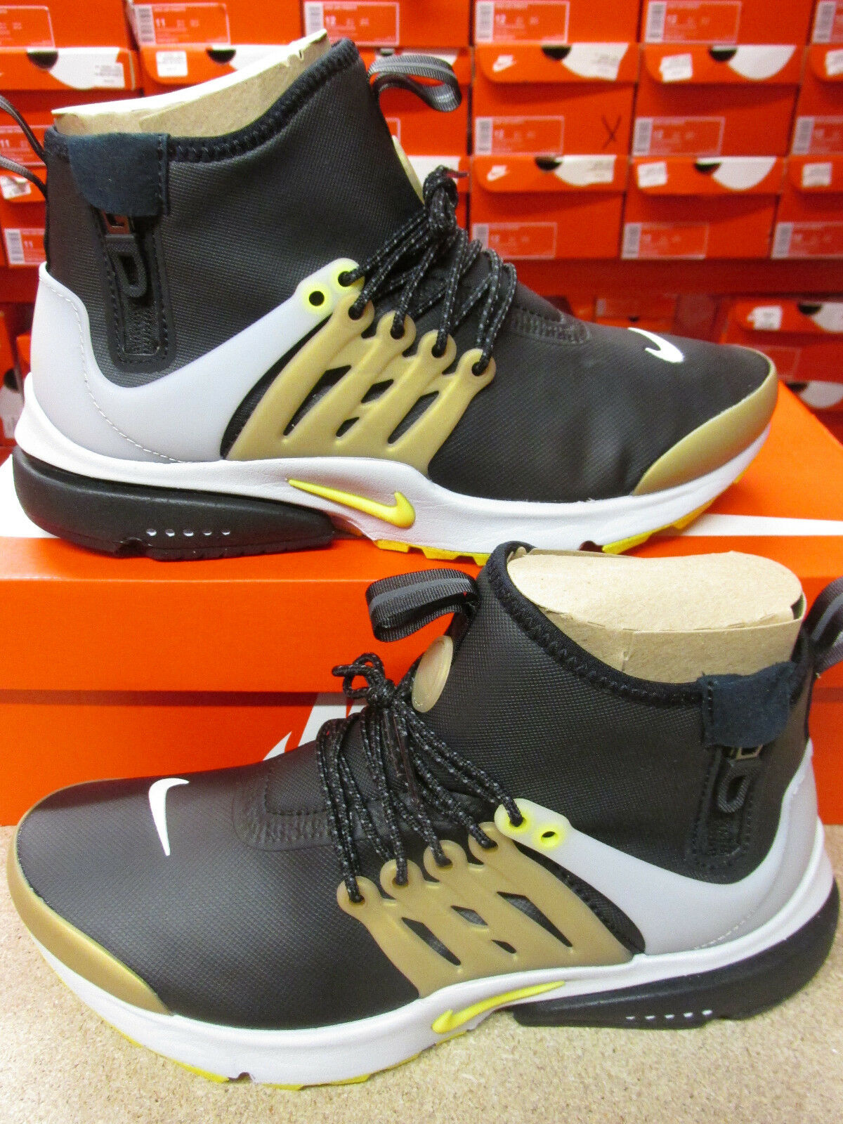 Nike Air 859524 Presto Mid Utility homme Hi Top Trainers 859524 Air 002 Baskets chaussures d32a8e