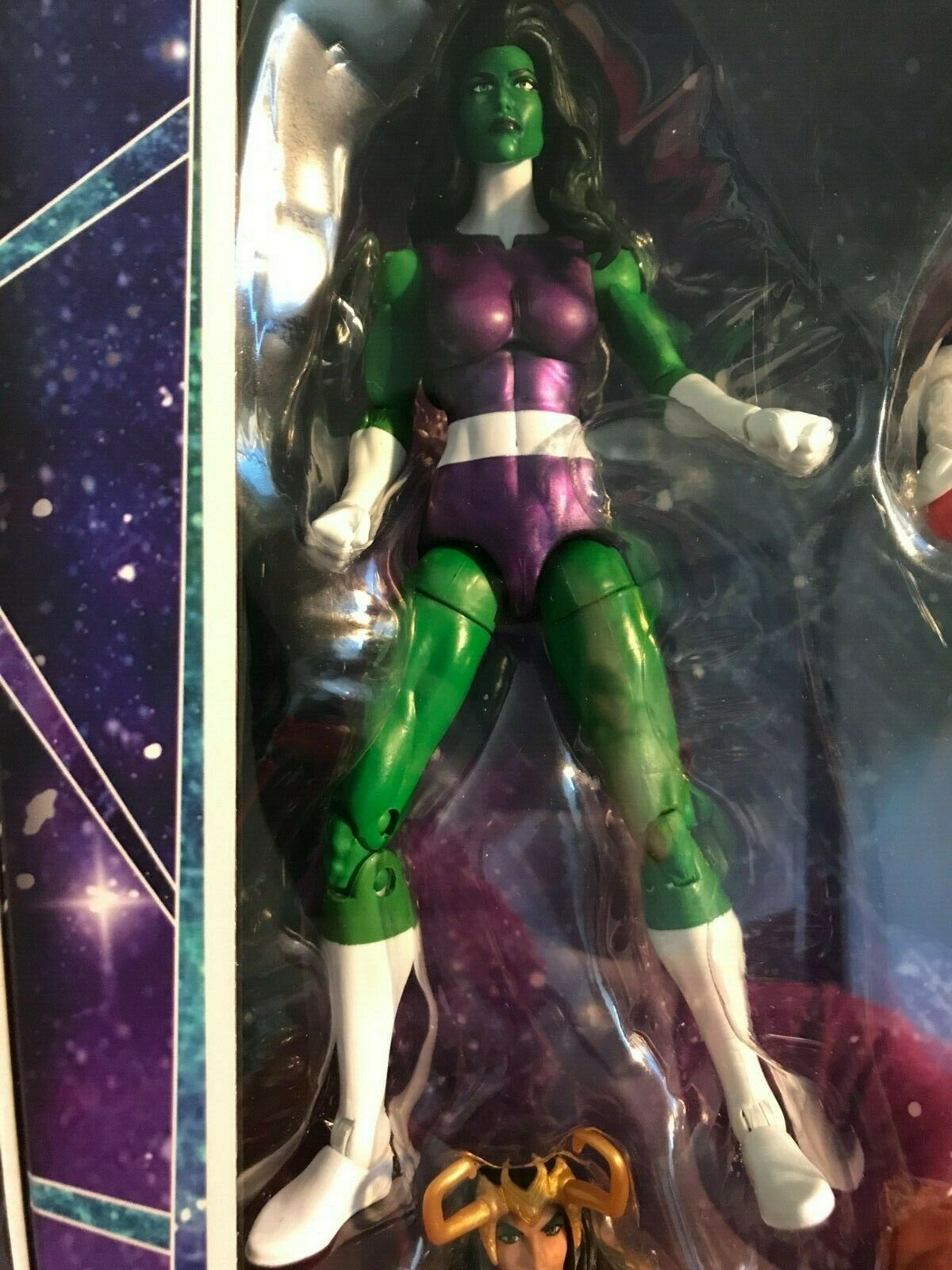 Marvel Legends 6  She Hulk A-Force Box SDCC Fantastic Four Avengers New Hero