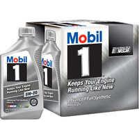 Mobil 1 Advanced Full Synthetic Motor Oil 5w-20 - 6 Pack Of 1 Quart Each