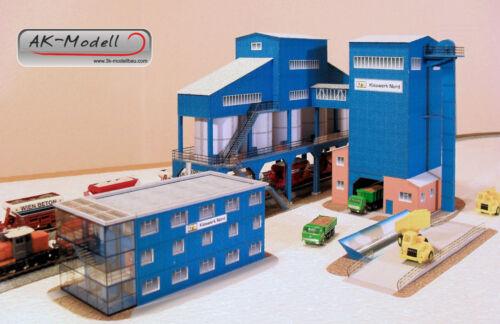 Kieswerk Nord kein Lasercut Kartonmodell-Bausatz in Spur N 1:160