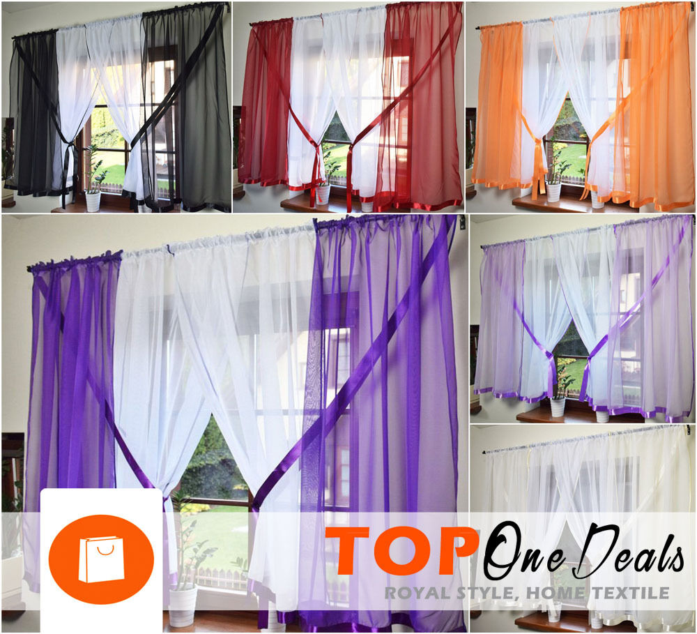 amazing voile net curtains ready made living dining room. Black Bedroom Furniture Sets. Home Design Ideas