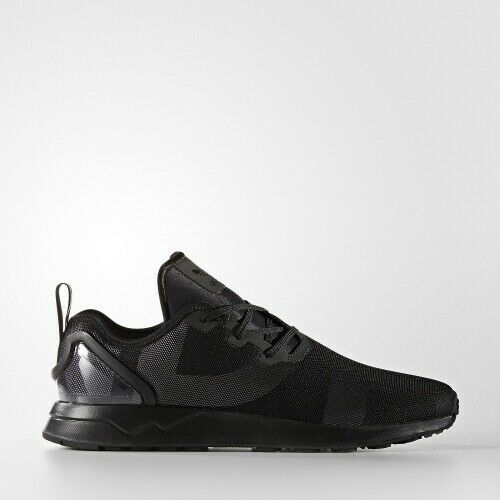 Adidas S76373 Originals ZX Flux ADV Asymmetrical Black Mens Lifestyle Sneakers