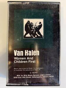 Van Halen Women's and Children First (Cassette)