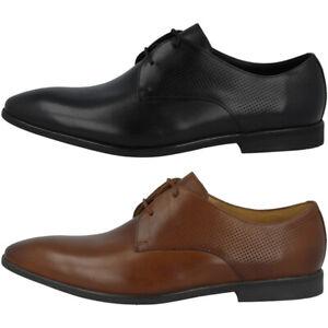 Detalles de Clarks Bampton Walk Men zapatos caballero Business zapato bajo cuero schnürschuhe ver título original