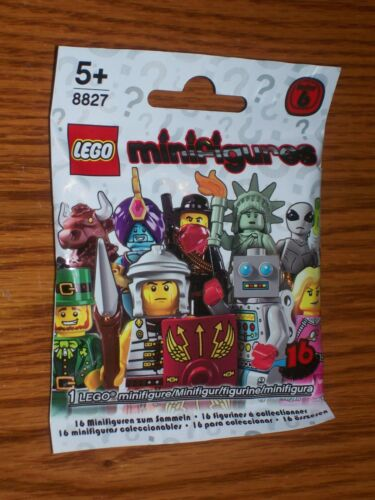 "LEGO MINIFIGURES SERIES 6 SEALED PACK The /""HIGHLAND BATTLER/"" ~ 8827 2012"
